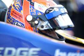 MONTEREY, CALIFORNIA - SEPTEMBER 20: Alexander Rossi of the United States, driver of the #27 NAPA Auto Parts Honda sits in his car during practice for the NTT IndyCar Series Firestone Grand Prix of Monterey at WeatherTech Raceway Laguna Seca on September 20, 2019 in Monterey, California. (Photo by Chris Graythen/Getty Images)