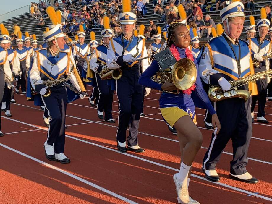 Scenes from Friday's Midland High football pre-game festivities. Photo: Fred Kelly/fred.kelly@mdn.net