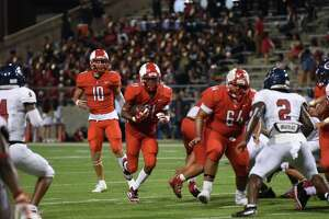 Cy Lakes beat Cy Springs 27-7 in week four of a District 14-6A matchup, Sept. 20, at Cy-Fair FCU Stadium.