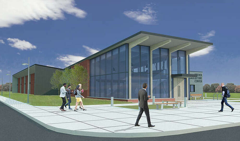 A rendering depicts Lincoln Land Community College's Kreher Agriculture Center, which is set to open in 2021. Photo: Photo Provided