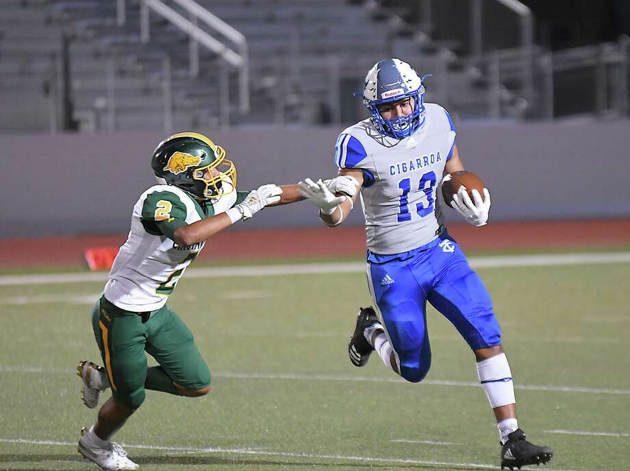 Victor Romanos and Cigarroa close out the season Friday with a 7:30 p.m. game at Valley View. Photo: Cuate Santos /Laredo Morning Times File / Laredo Morning Times