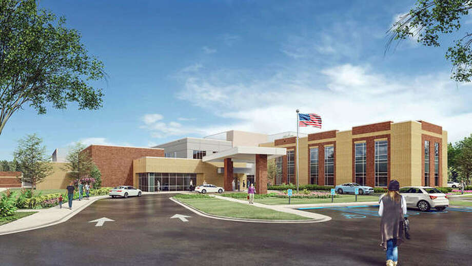 This artist's rendering shows the planned Kindred/Anderson inpatient rehabilitation hospital, due to break ground next year