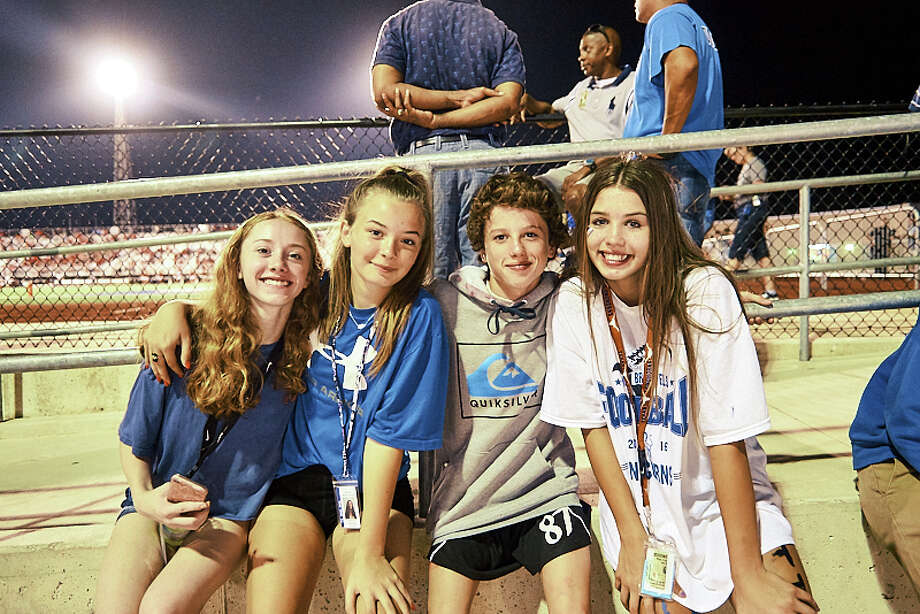 On Friday night, September, 21, the New Braunfels Unicorns and the Canyon Cougars played their well-known Wurst Bowl game at New Braunfels H.S. Photo: Chavis Barron