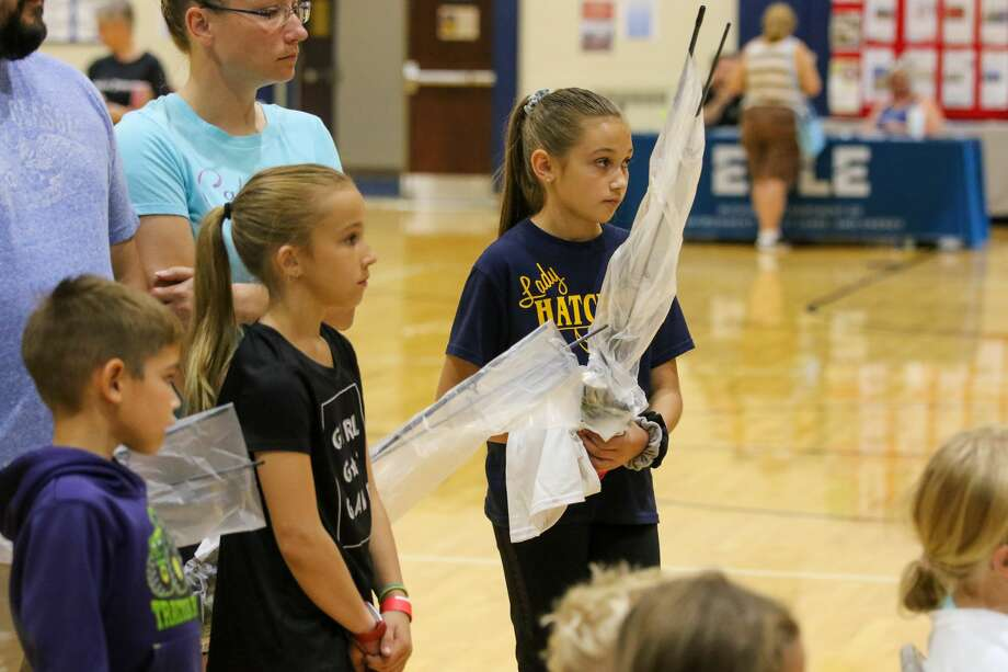 Residents interested in fishing came out to Bad Axe High School for the Tribune's first Thumb Area Fishing Expo. People of all ages got to learn about what goes into different kinds of fishing. Photo: Eric Young/Huron Daily Tribune