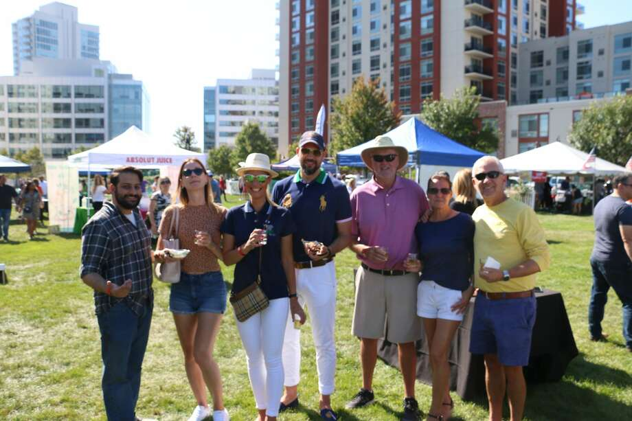 The Last Taste of Summer at Harbor Point took place in Stamford on  September 21, 2019. Festival goers tastings of craft beers, ciders,  seltzers, specialty vodka drinks, wine, Prosecco and kombucha as well as  local food. Were you SEEN? Photo: Mike MacLauchlan