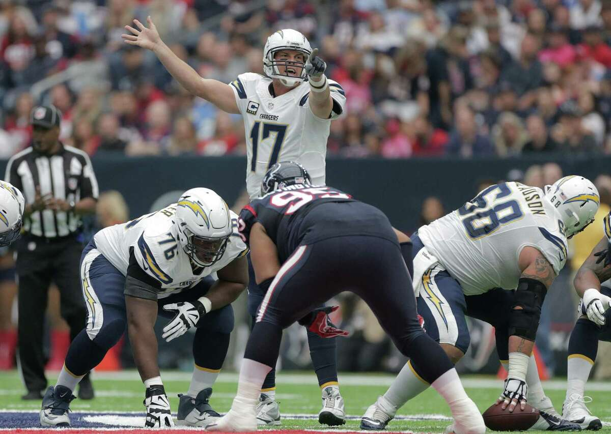 The Texans are 3-2 vs. Philip Rivers although they lost this game against the Chargers in 2016.
