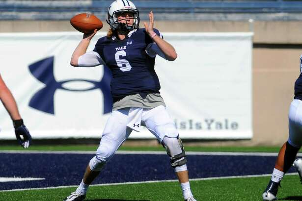 Kurt Rawlings set the Yale record with six touchdown passes in Saturday's win at Princeton. He also broke the program record for TD passes in a season with 23.