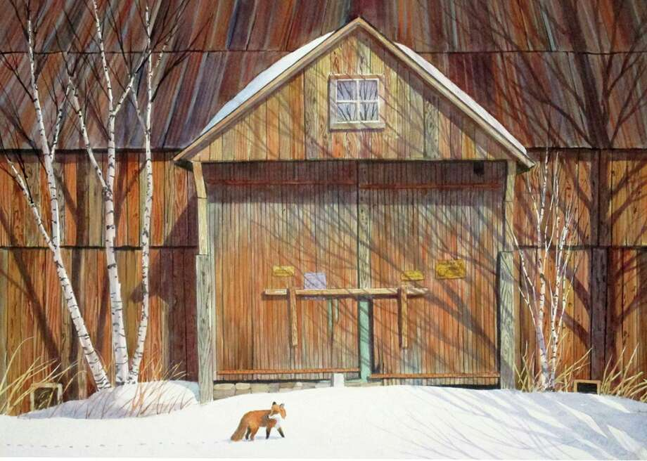 """Red Fox"" by NEWS President, Richard Price Photo: North East Watercolor Society / Contributed Photo"