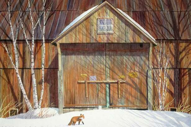 """Red Fox"" by NEWS President, Richard Price"