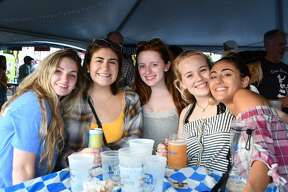 """Devon Rotary hosted their Oktoberfest celebration on September 20 and 21. The event included a 5K Run and Chug, food, drink and music at the Rotary Pavilion. Mayor Ben Blake hosted the official """"Tapping of the Keg,"""" honoring The CT Burns Care Foundation. Were you SEEN?"""