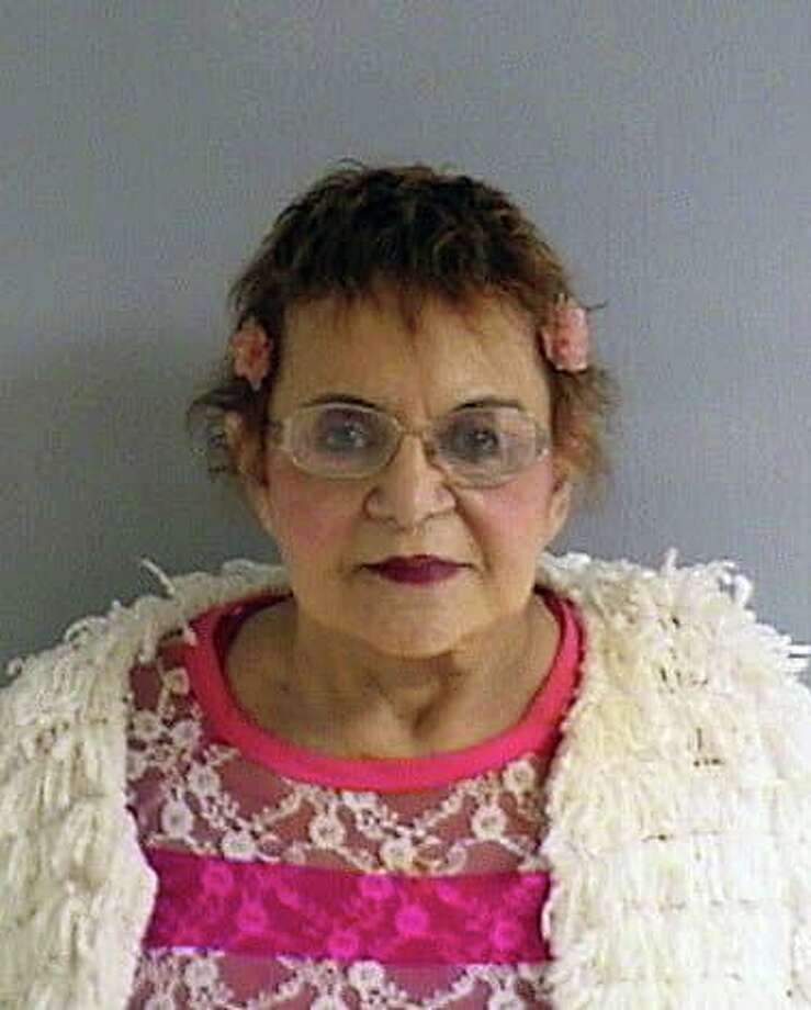 Ramona H. Rubin, 79, of Derby, was charged with misconduct with a motor vehicle and failure to drive in a proper lane. Photo: Contributed Photo / Orange Police Department
