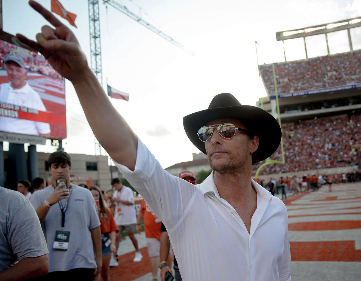 Austin: Matthew McConaugheyAmerican actor and producer