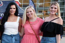 Fans at Toyota Center to see Carrie Underwood performs during the Cry Pretty Tour in Downtown Houston, TX on Saturday, September 21, 2019
