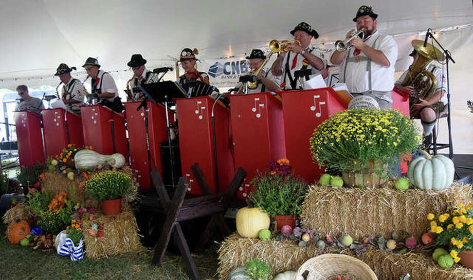 Photos from the first day of Oktoberfest in Jacksonville on Sturday Sept 21. Photo: Marco Cartolano | Journal-Courier