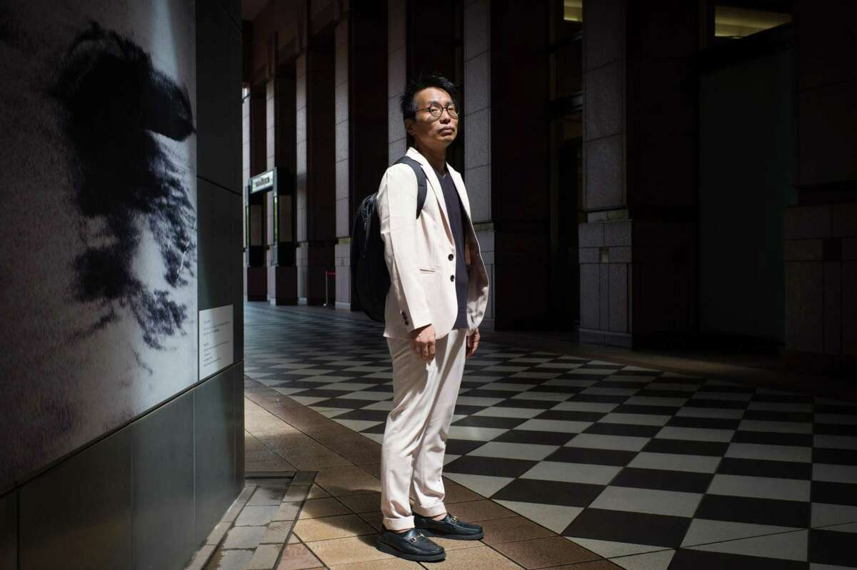 Yasushi Takagi, an investment writer and an FX trader, in Tokyo on Aug 13, 2019.