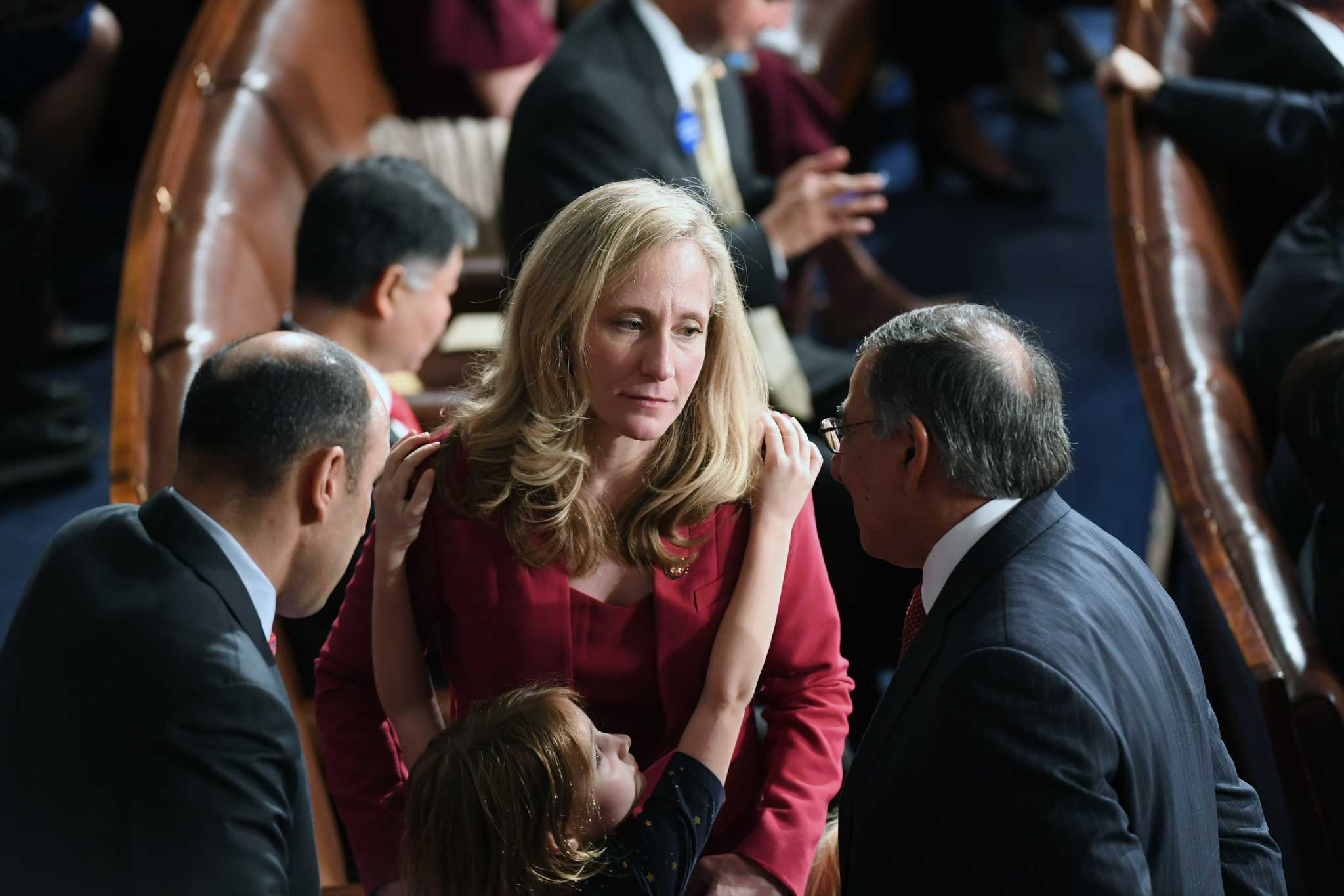 After a life of the gun, Abigail Spanberger wants control