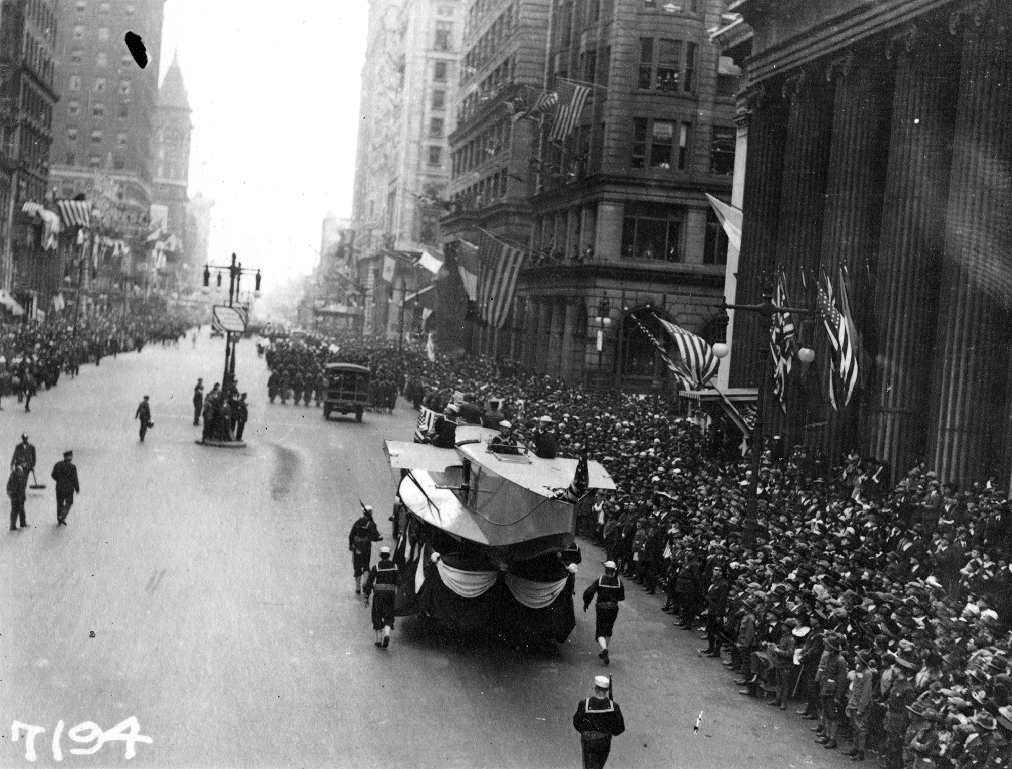 Looking back at a 1918 parade that helped spread a deadly flu, leaving nearly 13,000 dead