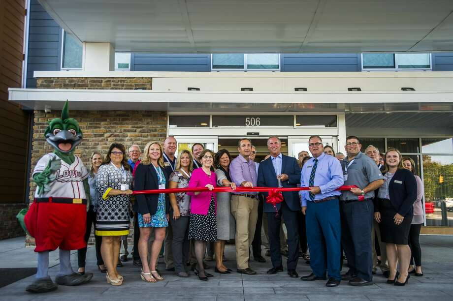 Fairfield Inn and Suites, located at 506 Buttles St., just next to the Admiral gas station and the East End Building, celebrates its opening with a ribbon cutting ceremony Friday, Sept. 20, 2019. (Katy Kildee/kkildee@mdn.net) Photo: (Katy Kildee/kkildee@mdn.net)