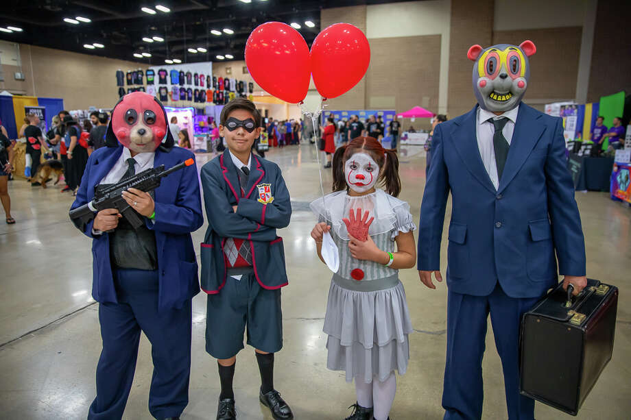 Superhero and comic book fans made their way to the Convention Center for the Big Texas Comicon on Saturday, September 21, 2019. Photo: Joel Pena