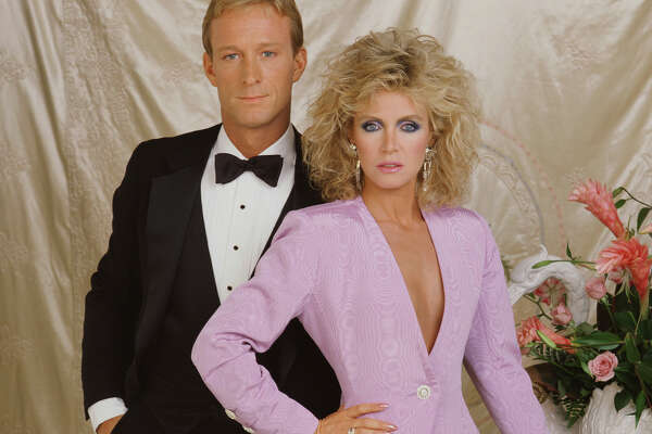 Gallery shot of Ted Shackleford (as Gary Ewing), Donna Mills (as Abby Cunningham) in Knots Landing.