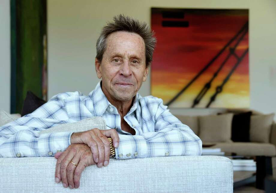 """This Aug. 30, 2019 photo shows producer Brian Grazer posing for a portrait at his home in Santa Monica, Calif., to promote his book """"Face to Face: The Art of Human Connection."""" (Photo by Chris Pizzello/Invision/AP) Photo: Chris Pizzello / 2019 Invision"""