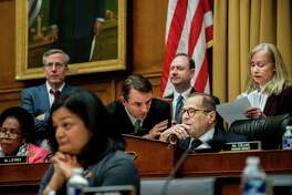 Judiciary Committee Chairman Jerrold Nadler, D-N.Y., presides over an oversight hearing.