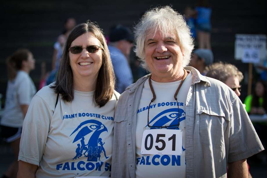 Were you Seen at the Albany Booster Club's Falcon 5K & Fun Run in Washington Park in Albany on Sunday, September 22, 2019? Photo: Christopher O'Connor