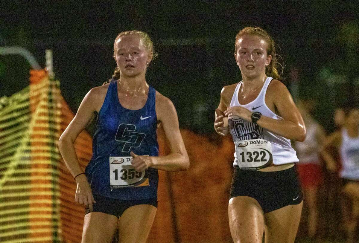 Madeline Orr of College Park, shown here in a race in August, won Saturday's College Park Invitational 5K varsity race.