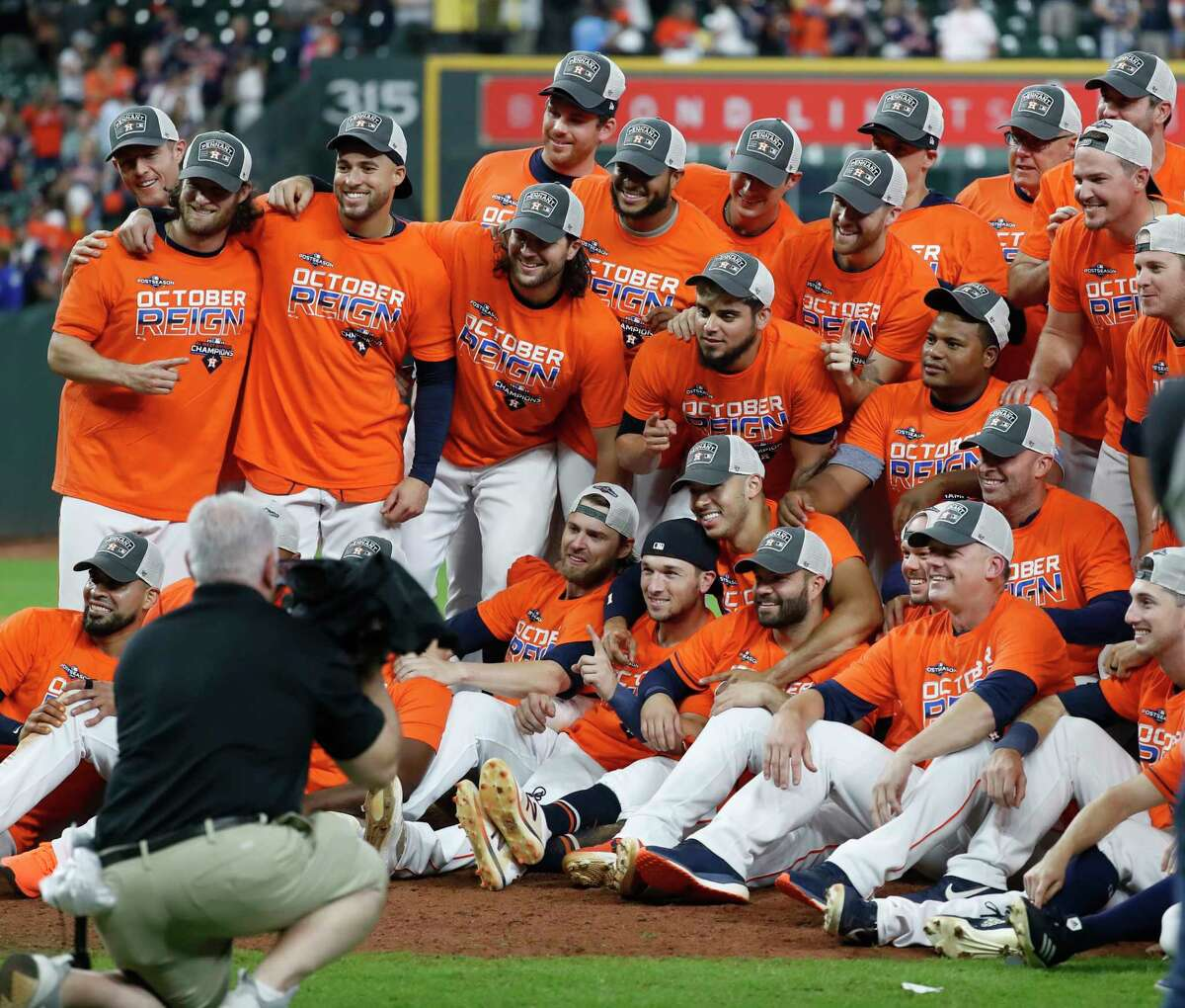 The Astros have three more legs to go on their quest for two World Series championships in three seasons.