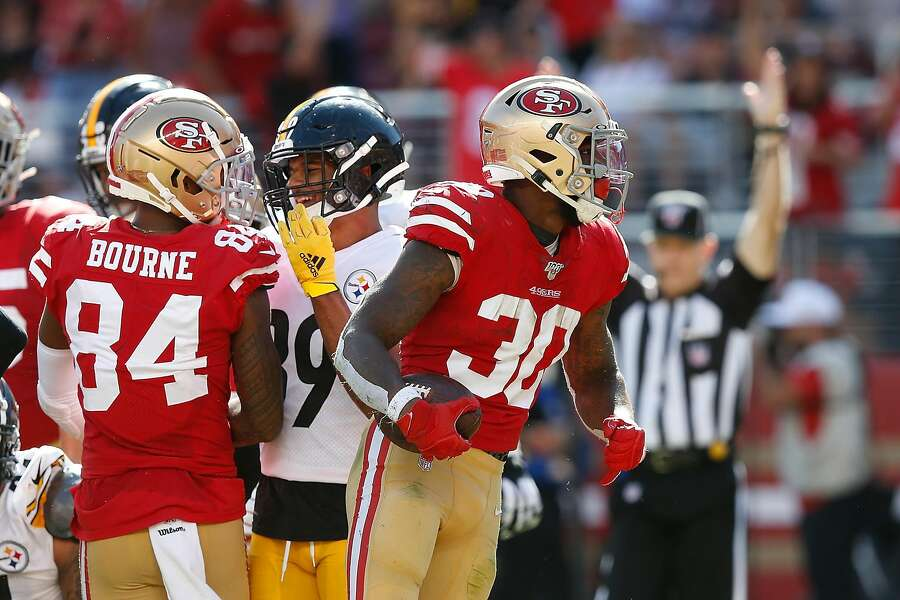 huge discount 9c285 7540a Mr. Touchdown: 49ers' Jeff Wilson among NFL leaders ...