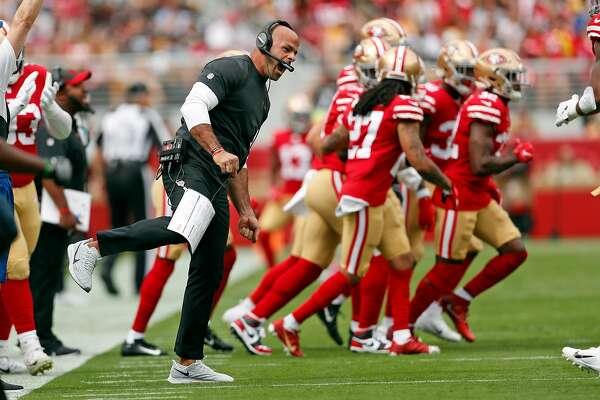 49ers defensive guru Robert Saleh: 'Peaceful giant' who preaches violence