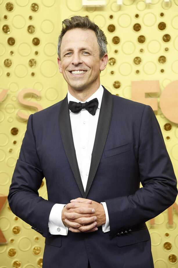 Seth Meyers attends the 71st Emmy Awards at Microsoft Theater on Sept. 22, 2019 in Los Angeles, Calif. Photo: Frazer Harrison/Getty Images