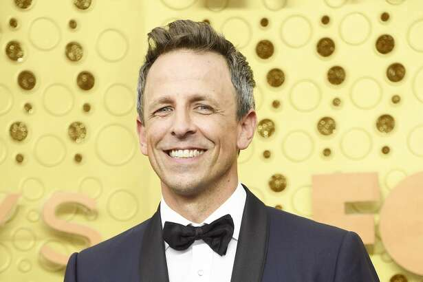 Seth Meyers attends the 71st Emmy Awards at Microsoft Theater on Sept. 22, 2019 in Los Angeles, Calif.