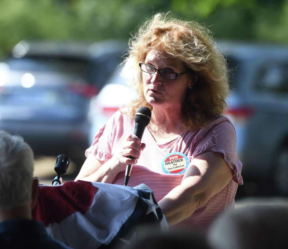 Republican Tax Collector candidate Heather Smeriglio.