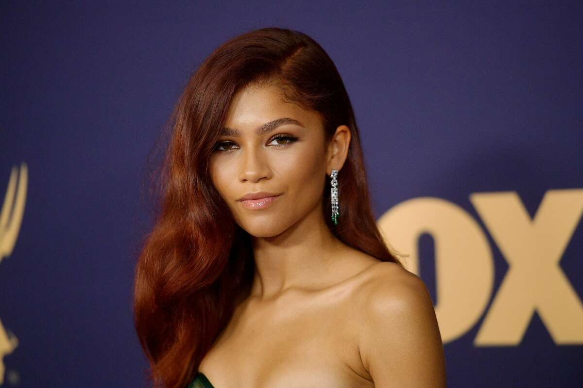 FILE - Zendaya attends the 71st Emmy Awards at Microsoft Theater on Sept. 22, 2019 in Los Angeles, Calif.