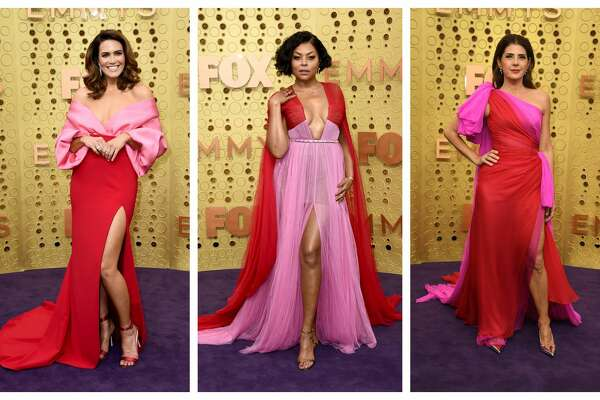 Emmys red carpet trend: Pink and Red