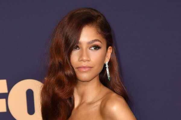 US actress Zendaya arrives for the 71st Emmy Awards at the Microsoft Theatre in Los Angeles on September 22, 2019. (Photo by Robyn Beck / AFP)ROBYN BECK/AFP/Getty Images