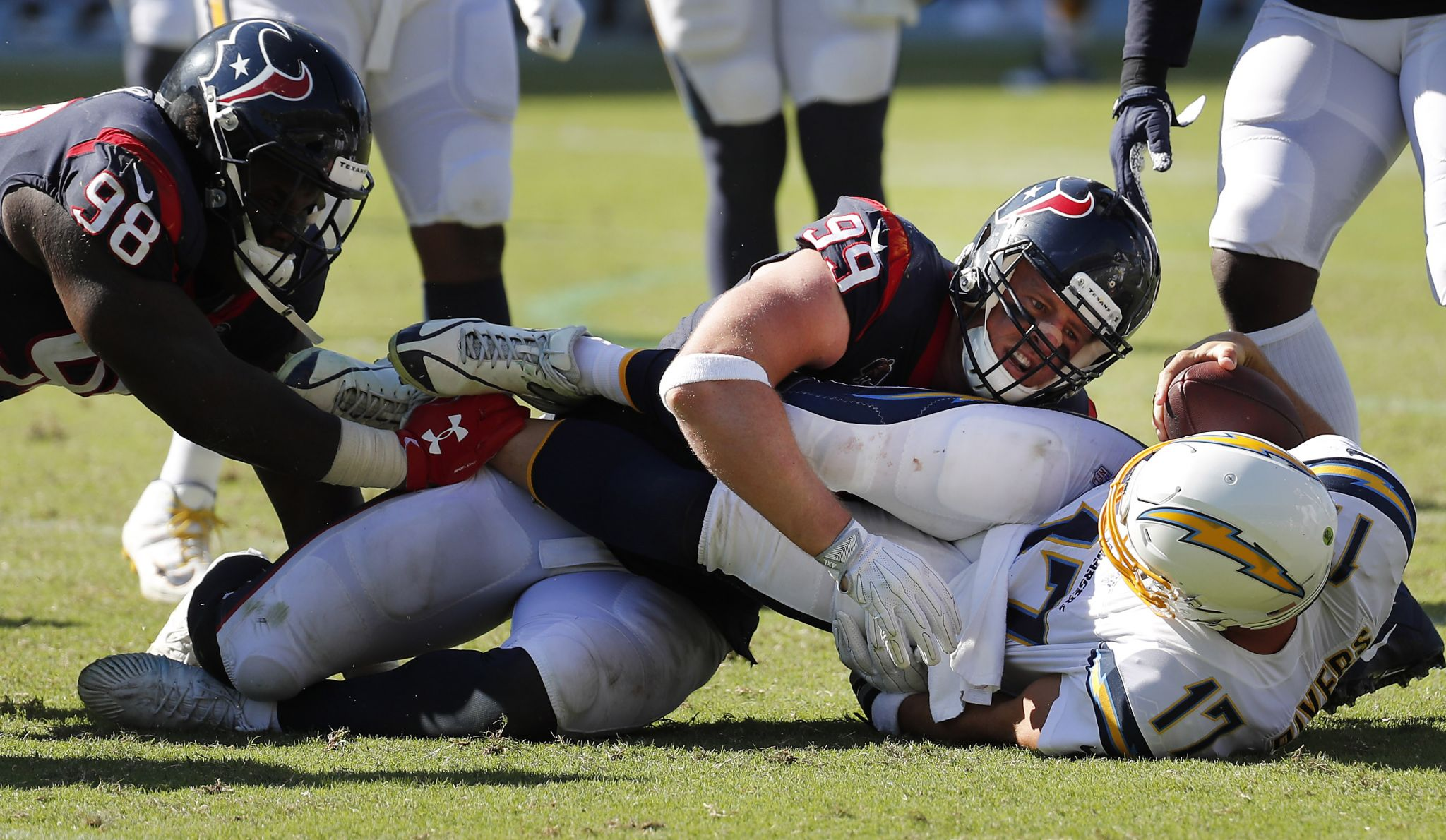 Texans takeaways: The good kind of sacks pace