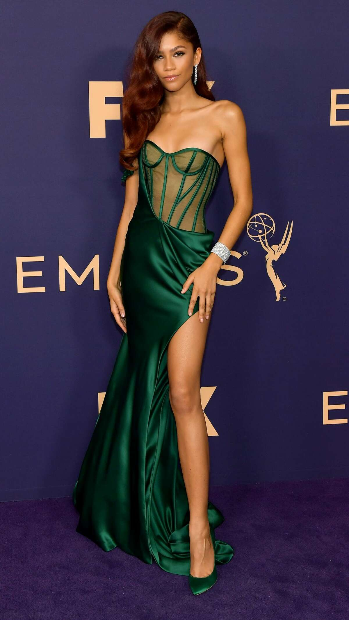 Zendaya attends the 71st Emmy Awards on Sept. 22, 2019 in Los Angeles, Calif.