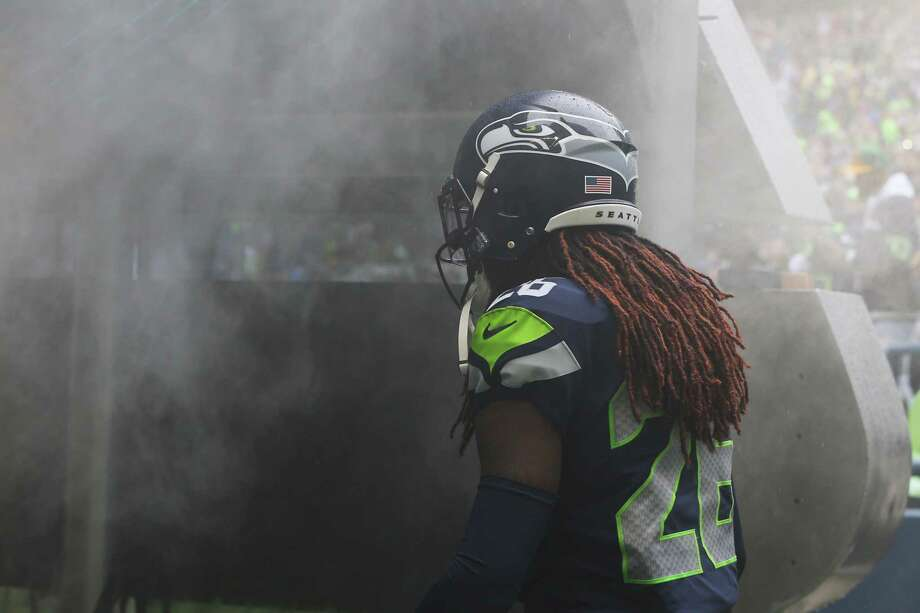 Seattle Seahawks cornerback Shaquill Griffin (26) takes the field before Seattle's game against the New Orleans Saints, Sunday, Sept. 22, 2019. The Seahawks lost 33-27. Photo: Genna Martin, Seattlepi.com / GENNA MARTIN