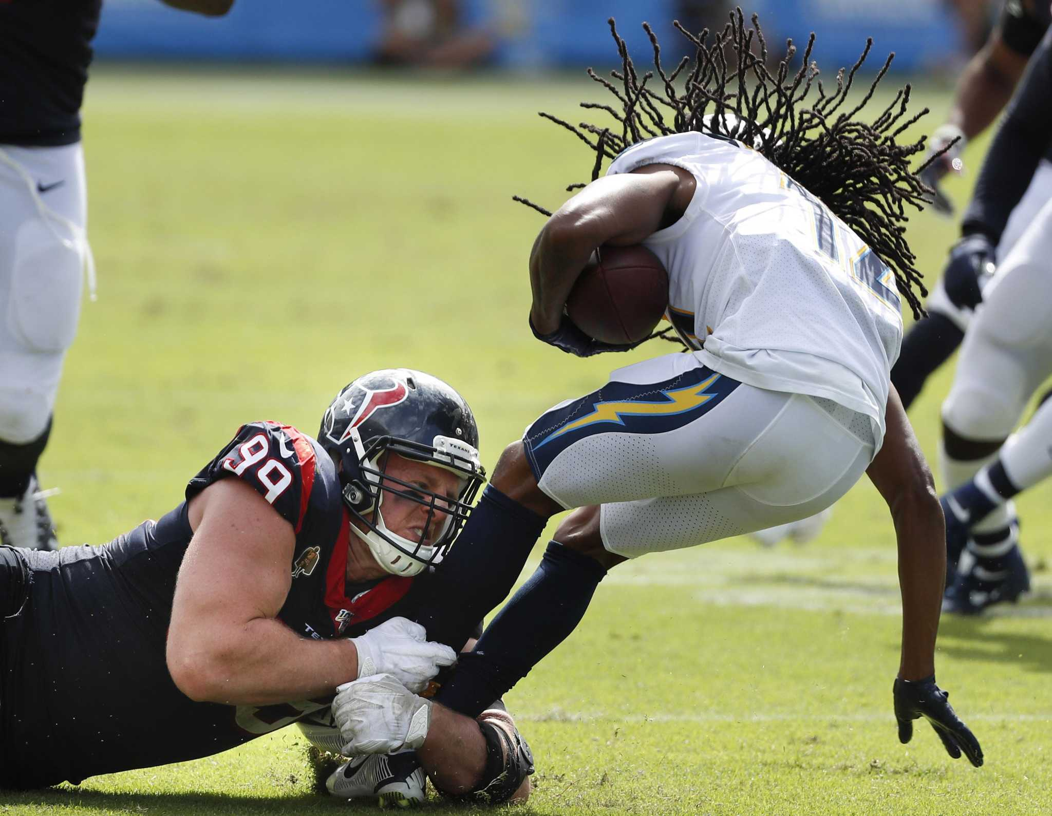 McClain: Texans defense makes the plays this time