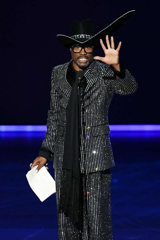LOS ANGELES, CALIFORNIA - SEPTEMBER 22: Billy Porter accepts the Outstanding Lead Actor in a Drama Series award for 'Pose' onstage during the 71st Emmy Awards at Microsoft Theater on September 22, 2019 in Los Angeles, California. (Photo by Kevin Winter/Getty Images) Photo: Kevin Winter, Getty Images
