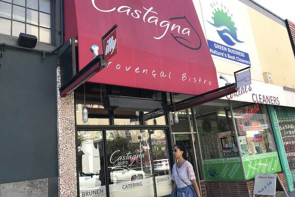 Castagna is seen at 2015 Chestnut St., San Francisco.