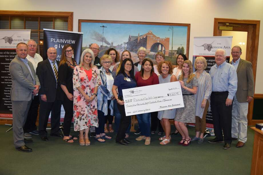 Plainview Area Endowment recipients pose for a photo following the grant presentations Thursday afternoon. Photo: Ellysa Harris/Plainview Herald