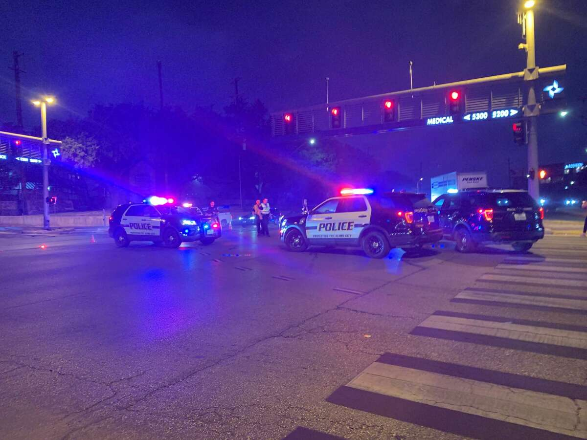 A man was killed following a wreck at the corner of Babcock Road and Medical Drive around 5 a.m. Monday, Sept. 23, 2019.