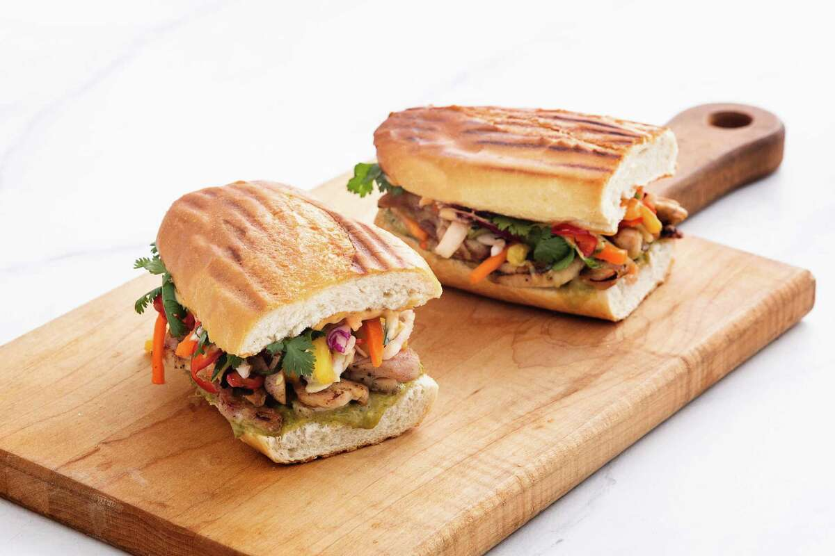 Mendocino Farms, a fast-casual sandwich and salad brand, will open its second Houston location Oct. 3 in Uptown Park. It's first shop in July in Rice Village. A third store will open Nov. 7 in downtown. Shown: Nam's Schoolhouse Charity Banh Mi.