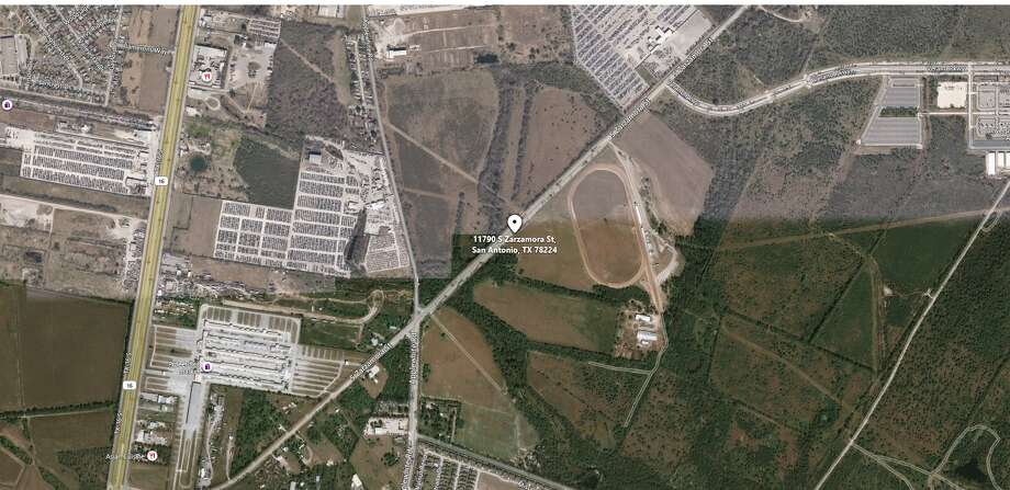 Hundreds of people started brawling at a South Side ranch late Sunday night. Photo: Bing Maps