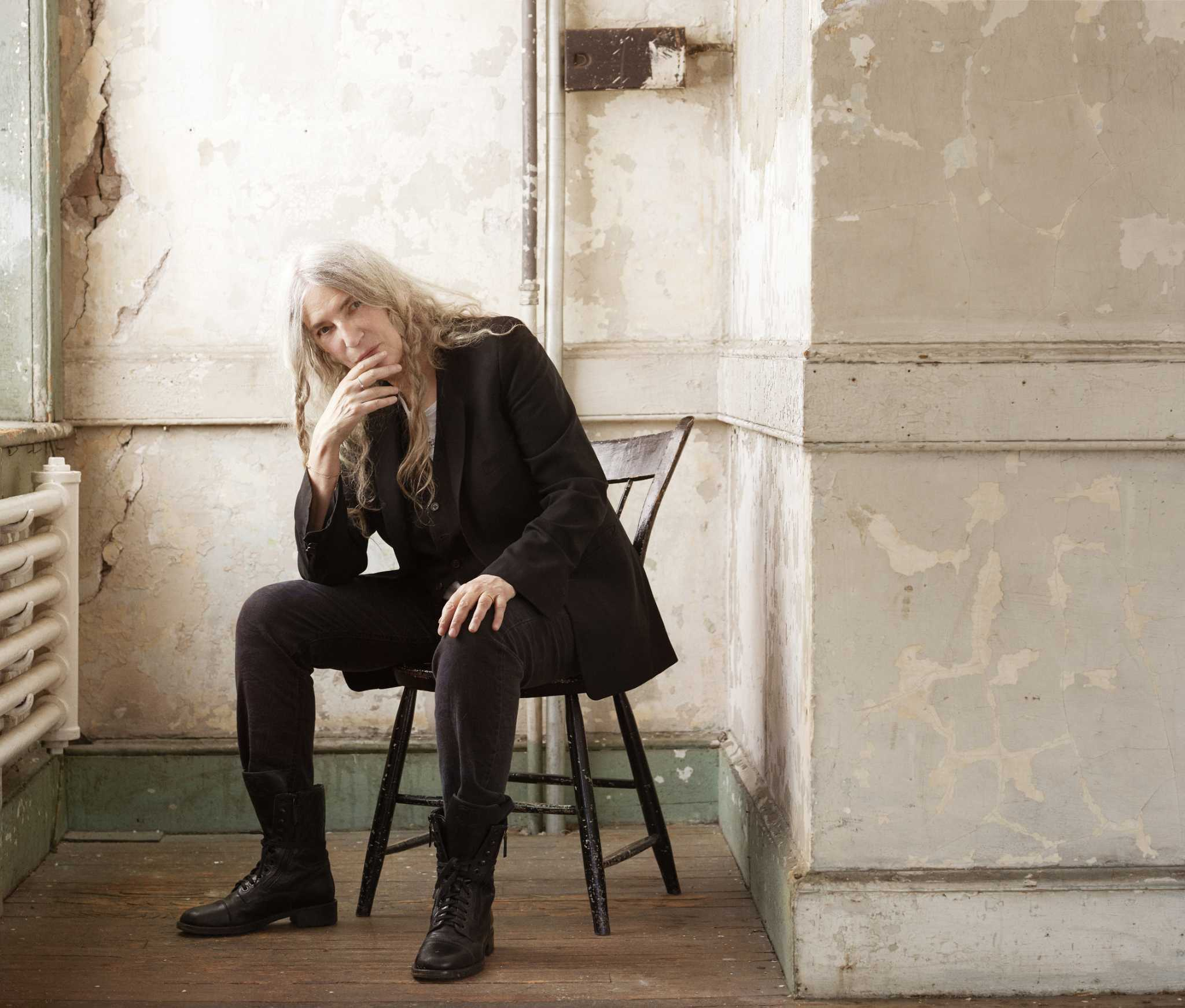 Patti Smith has finally become the artist she always wanted to be