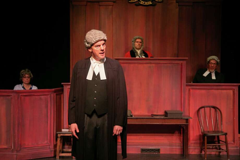Witness for the Prosecution will be staged through Oct. 11 at TheatreWorks, 5 Brookside Avenue, New Milford. Tickets are $20-$25. For more information, visit theatreworks.us. Photo: Richard Pettibone / Contributed Photo