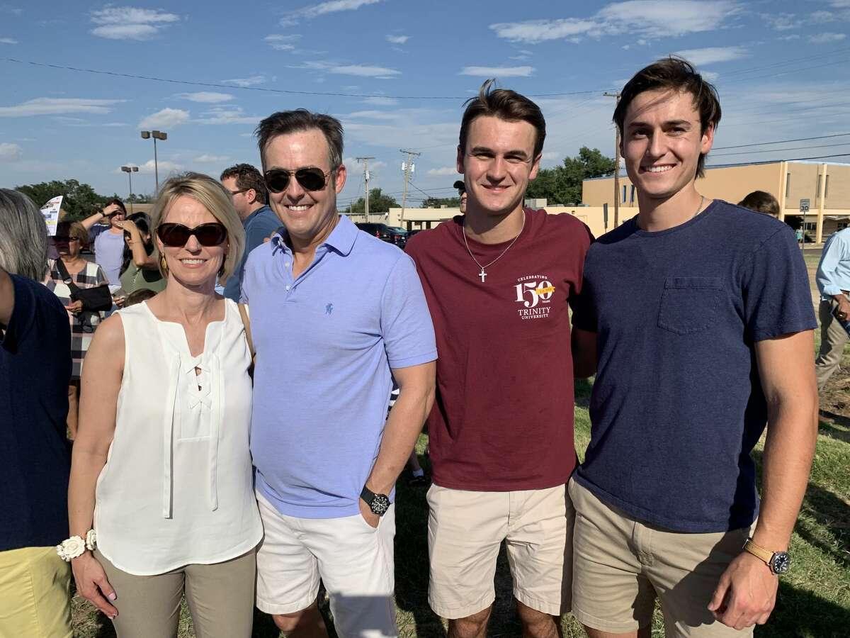 Elizabeth Witt, Greg Witt, Evan Witt and Benjamin Witt